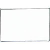 【CAINZ DASH】TRUSCO スチール製ホワイトボード 無地 粉受付 900X1200