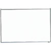 【CAINZ DASH】TRUSCO スチール製ホワイトボード 無地 粉受付 600X900