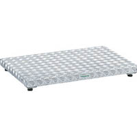 【CAINZ DASH】TRUSCO 低床式アルミ製ステップ 900X600XH90〜120