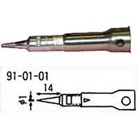 【CAINZ DASH】コテライザー オートミニ用コテ先先端1mm標準コテ先