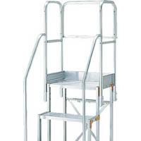 【CAINZ DASH】TRUSCO 作業用踏台用手すり H900 階段両手すり天場三方 TSF−510