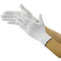 【CAINZ DASH】TRUSCO クリーンルーム用インナー手袋 Mサイズ (10双入)