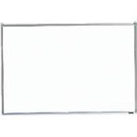 【CAINZ DASH】TRUSCO スチール製ホワイトボード 無地 粉受付 300X450