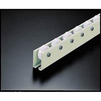 【CAINZ DASH】TRUSCO ホイールコンベヤ 樹脂製Φ38X12 P75XL2000
