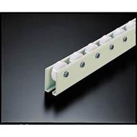 【CAINZ DASH】TRUSCO ホイールコンベヤ 樹脂製Φ38X12 P100XL2400