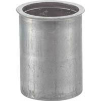 【CAINZ DASH】TRUSCO クリンプナット薄頭アルミ 板厚1.5 M4X0.7 (33個入)