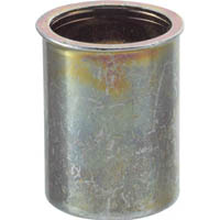 【CAINZ DASH】TRUSCO クリンプナット薄頭スチール 板厚1.5 M4X0.7 (37個入)