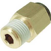 【CAINZ DASH】チヨダ フジメイルコネクター(金属) 6mm・R1/8
