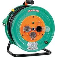 【CAINZ DASH】日動 電工ドラム 防雨防塵型100Vドラム アース付 30m