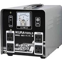 【CAINZ DASH】育良 ポータブルトランス 昇降圧兼用 3kVA(40211)