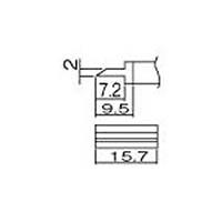 【CAINZ DASH】白光 こて先 スパチュラ 15.7