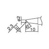 【CAINZ DASH】白光 こて先 2BC型(Z) 面のみ