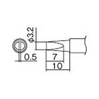 【CAINZ DASH】白光 こて先 3.2DL型