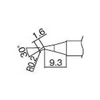 【CAINZ DASH】白光 こて先 0.2JS型