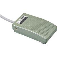 【CAINZ DASH】オジデン フットスイッチ アルミダイカスト製ミニ形 電気定格6A−250VAC