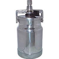 【CAINZ DASH】デビルビス 吸上式塗料カップアルミ製レバータイプ(容量1000cc)G1/4