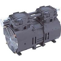【CAINZ DASH】ULVAC 単相100V 揺動ピストン型ドライ真空ポンプ