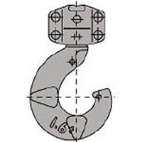 【CAINZ DASH】キトー LB016用 L5形シタフック組 造船用