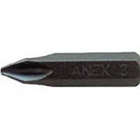 【CAINZ DASH】アネックス インパクトドライバー用ビット +2×36 対辺8mm六角軸