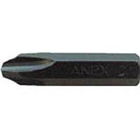 【CAINZ DASH】アネックス インパクトドライバー用ビット +3×36 対辺8mm六角軸