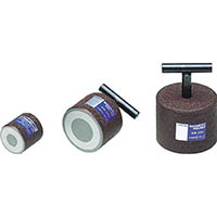 【CAINZ DASH】カネテック 永磁ホルダ ネオジム磁石 外径40mm 円形・ねじ穴あり