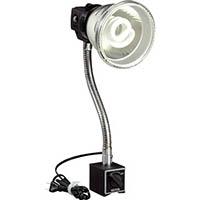 【CAINZ DASH】ハタヤ 蛍光灯マグスタンド 18W蛍光灯付 電線1.6m マグネットスタンド付