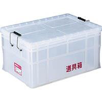 【CAINZ DASH】リス 透明道具箱 75L