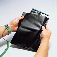 【CAINZ DASH】HOZAN ESDバッグ 導電性袋 300×450mm 1Pk(袋)=10枚入