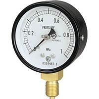 【CAINZ DASH】長野 普通形圧力計 A枠立型 Φ60最小目盛0.005