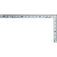 ○シンワ 超小型曲尺 五寸法師 15X7.5CM