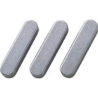 【CAINZ DASH】セイキ 平行キー 両丸S50C 1袋(10個入り) 幅6×長さ20mm