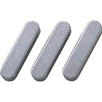 【CAINZ DASH】セイキ 平行キー 両丸S50C 1袋(10個入り) 幅6×長さ25mm