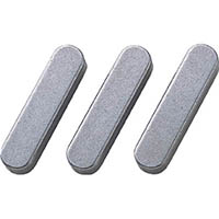 【CAINZ DASH】セイキ 平行キー 両丸S50C 1袋(10個入り) 幅6×長さ45mm
