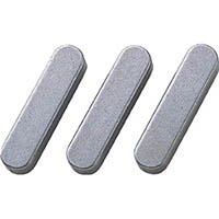 【CAINZ DASH】セイキ 平行キー 両丸S50C 1袋(5個入り) 幅12×長さ30mm