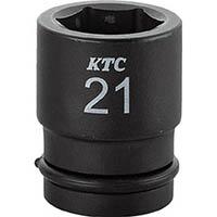 【CAINZ DASH】KTC 12.7sq.インパクトレンチ用ソケット(標準) ピン・リング付29mm