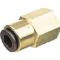 【CAINZ DASH】チヨダ フジフィメイルコネクター(金属) 4mm・Rc1/8