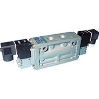 【CAINZ DASH】CKD 4Fシリーズパイロット式5ポート弁セレックスバルブ 2.0C[dm[[の3乗]]/(S・bar)]/音速コンダクタンス