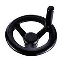 【CAINZ DASH】イマオ 丸リム型エンプラハンドル車(回転握り付き)160