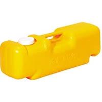 【CAINZ DASH】ミツギロン 注水式重石バリストン イエロー 510×165×高さ175