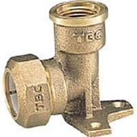 TBC 座付水栓エルボ三止 1種水検 13PZA1