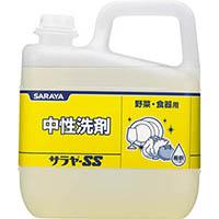 【店舗取り置き限定】サラヤ SS 5Kg 中性洗剤 野菜・食器用