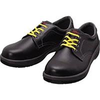 【CAINZ DASH】シモン 静電安全靴 短靴 7511黒静電靴 23.5cm