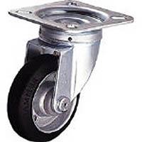 【CAINZ DASH】ワコー エアーキャスターねじ込みタイプ(自在車S付)荷重60 車輪径100幅25