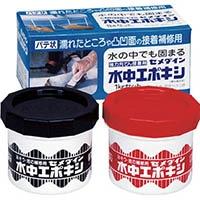 【CAINZ DASH】セメダイン 水中エポキシ 1kgセット AP−001