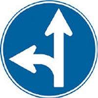 【CAINZ DASH】トーグ メラミン標識「A指定方向外禁止」