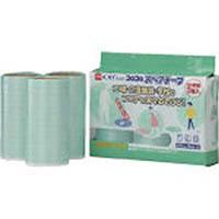 【CAINZ DASH】ニトムズ オフィスコロコロスペアテープ 多用途フロア用187mm(3巻入)