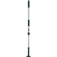 【CAINZ DASH】テラモト FXハンドルアルミ伸縮柄 1110〜1800mm グリーン