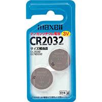 【CAINZ DASH】マクセル リチウム電池2個入り