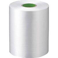 【CAINZ DASH】ツカサ 自動結束機用PEテープ ダイヤフラット D−28(白)