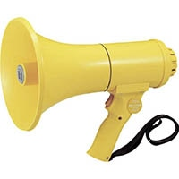 【CAINZ DASH】TOA 中型ハンド型メガホン ホイッスル音付き